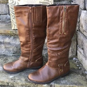 Harness Style Boots